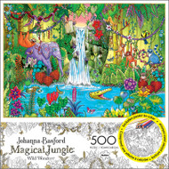 Johanna Basford's Magical Jungle Wild Wonders 500 Piece Jigsaw Puzzle Box