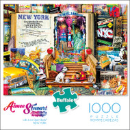 Aimee Stewart Life is an Open Book NEW YORK 1000 Piece Jigsaw Puzzle Box