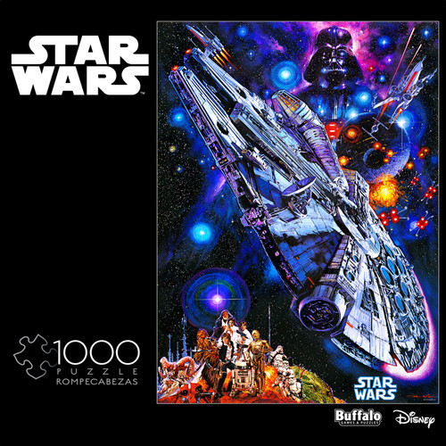 "Star Wars™: ""You're All Clear, Kid"" 1000 Piece Jigsaw Puzzle Box"