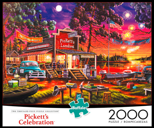 Pickett's Celebration 2000 Piece Jigsaw Puzzle Box