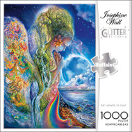 Josephine Wall The Sadness Of Gaia GLITTER EDITION 1000 Piece Jigsaw Puzzle Box