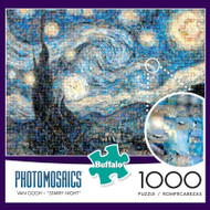 Starry Night 1000 Piece Photomosaic Jigsaw Puzzle Box