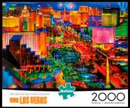 Viva Las Vegas 2000 Piece Jigsaw Puzzle Box