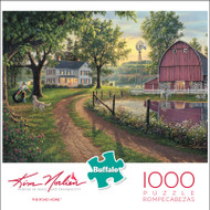 Kim Norlien The Road Home 1000 Piece Jigsaw Puzzle Box