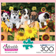 Adorable Animals The Gang's All Here 300 Large Piece Jigsaw Puzzle Box