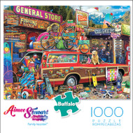 Aimee Stewart Collection: Family Vacation 1000 Piece Jigsaw Puzzle Box