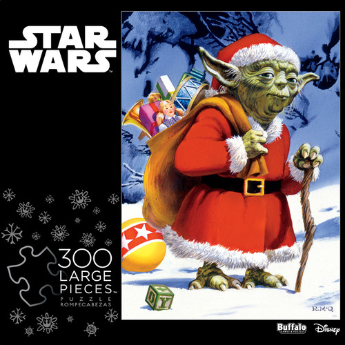 Star Wars™ Holiday Yoda 300 Large Piece Jigsaw Puzzle Box