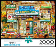 Aimee Stewart Brown's General Store 2000 Piece Jigsaw Puzzle Box