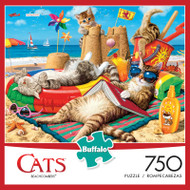 Cats Beachcombers 750 Piece Jigsaw Puzzle Box