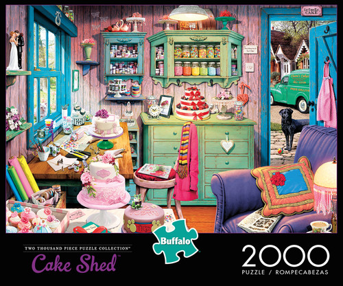 Cake Shed 2000 Piece Jigsaw Puzzle Box