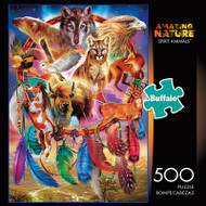 Amazing Nature Spirit Animals 500 Piece Jigsaw Puzzle Box