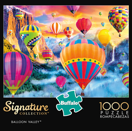 Signature Collection Balloon Valley 1000 Piece Jigsaw Puzzle Box