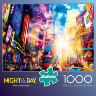 Night & Day Vibrant Times Square 1000 Piece Jigsaw Puzzle Box