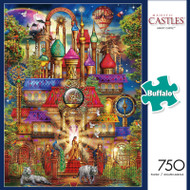 Majestic Castles: Magic Castle 750 Piece Jigsaw Puzzle Box
