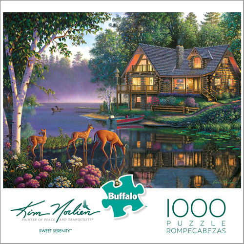Kim Norlien Sweet Serenity 1000 Piece Jigsaw Puzzle Box