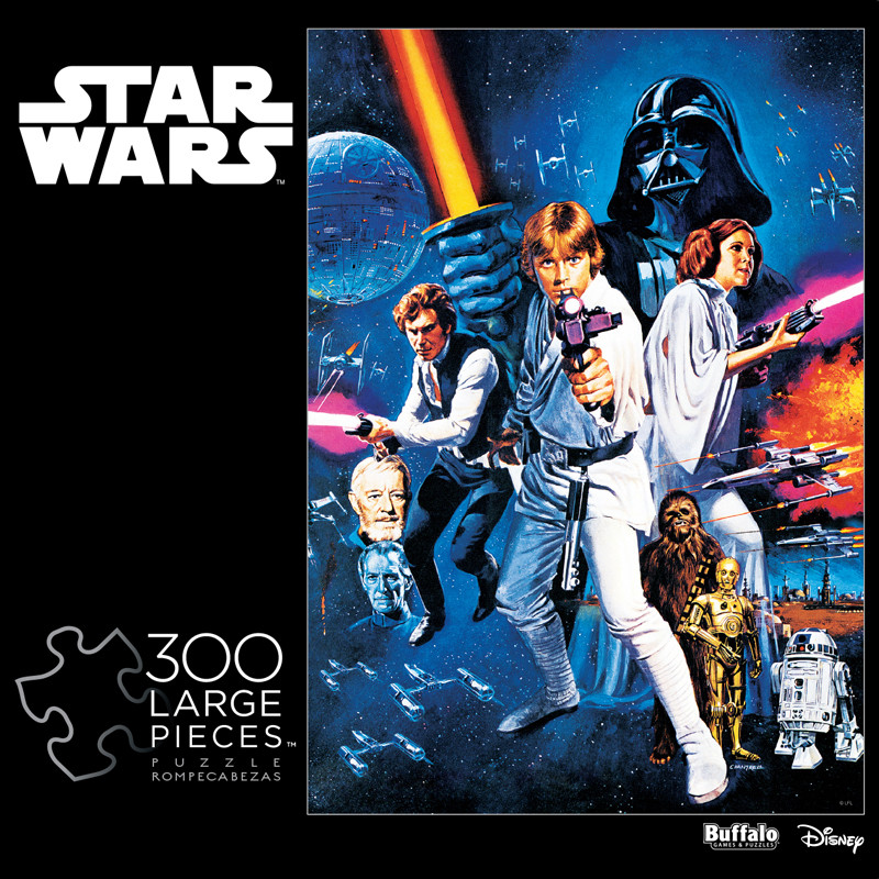 Star Wars™ A New Hope Movie Poster 300 Large Piece Jigsaw