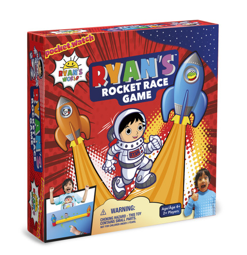 Ryan's Rocket Race Game Box Front