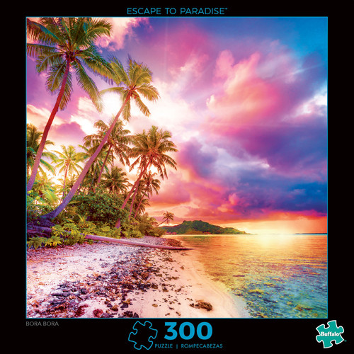 Photography Escape to Paradise 300 Large Piece Jigsaw Puzzle Box