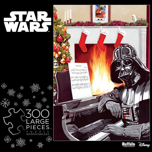 Star Wars™ A Very Vader Christmas 300 Large Piece Jigsaw Puzzle Box