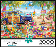 Aimee Stewart Beach Vacation 2000 Piece Jigsaw Puzzle Box