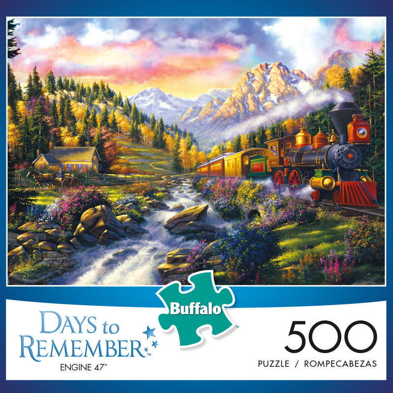 Days to Remember Engine 47 500 Piece Jigsaw Puzzle