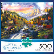 Days to Remember Engine 47 500 Piece Jigsaw Puzzle Box