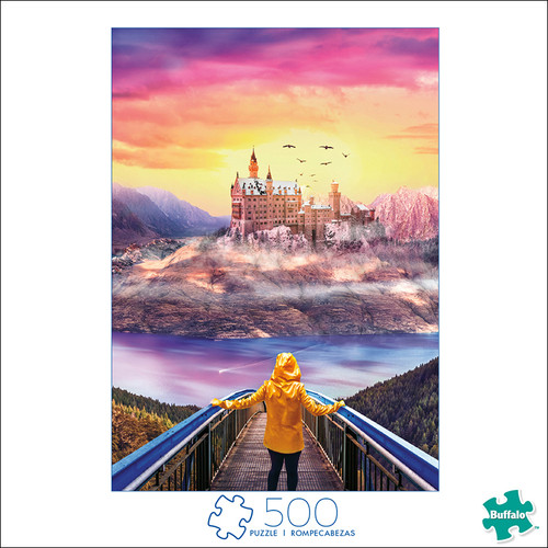 Art of Play Discover Fantasy 500 Piece Jigsaw Puzzle Box