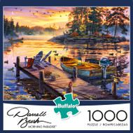 Darrell Bush Morning Paradise 1000 Piece Jigsaw Puzzle Box