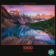 Photography Mountains on Fire 1000 Piece Jigsaw Puzzle Box