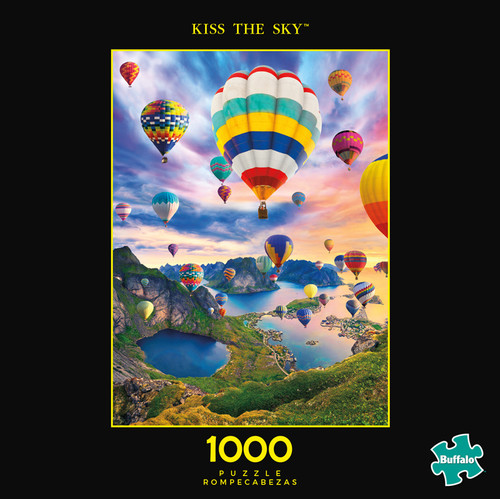 Photography Kiss The Sky 1000 Piece Jigsaw Puzzle Box