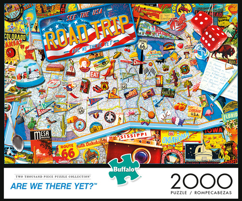 Are We There Yet 2000 Piece Jigsaw Puzzle Box