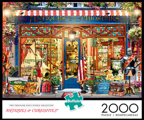 Antiques & Curiosities 2000 Piece Jigsaw Puzzle Box