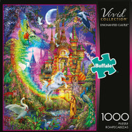 Vivid Enchanted Castle 1000 Piece Jigsaw Puzzle Box