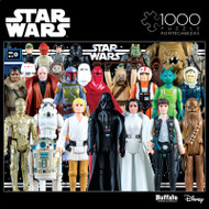 Star Wars™: Vintage Action Figures 1000 Piece Jigsaw Puzzle Box