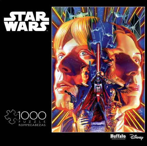 "Star Wars™ ""I Find Your Lack of Faith Disturbing"" 1000 Piece Jigsaw Puzzle Box"