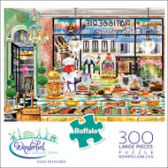 Wanderlust Paris Patisserie 300 Large Piece Jigsaw Puzzle Box