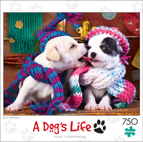 A Dog's Life Best Friends 750 Piece Jigsaw Puzzle Box