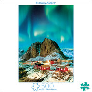 Earthpix Norway Aurora 500 Piece Jigsaw Puzzle Box