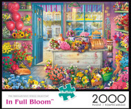 In Full Bloom 2000 Piece Jigsaw Puzzle Box