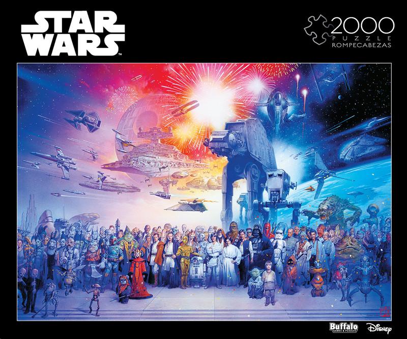 Star Wars You Were The Chosen One 2000 Piece Jigsaw Puzzle Buffalo Games