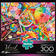Aimee Stewart Vivid Candylicious 300 Large Piece Jigsaw Puzzle Box