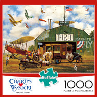 Charles Wysocki Hero Worship 1000 Piece Jigsaw Puzzle Box