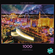 Photography Las Vegas Night 1000 Piece Jigsaw Puzzle Box