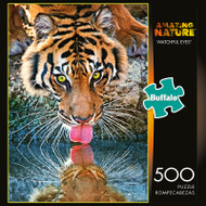 Amazing Nature Watchful Eyes 500 Piece Jigsaw Puzzle Box