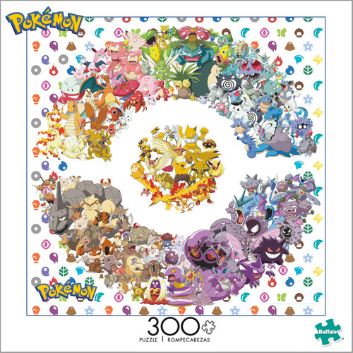 Pokémon Catch Them All Kanto 300 Large Piece Jigsaw Puzzle Box