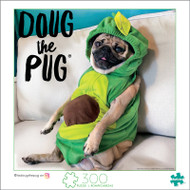 Doug The Pug Avocado Doug 300 Large Piece Jigsaw Puzzle Box