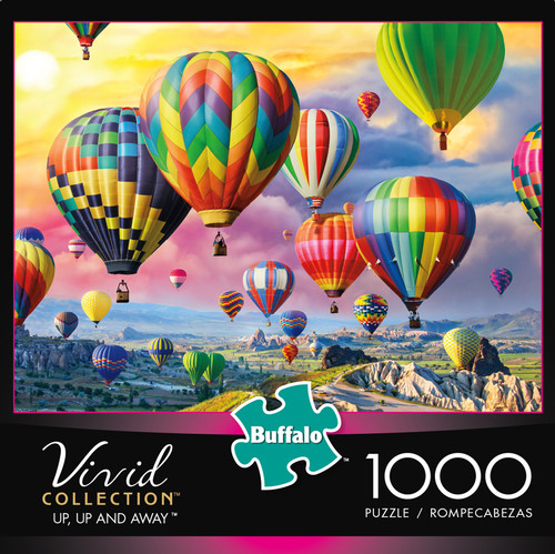 Vivid Up, Up and Away 1000 Piece Jigsaw Puzzle Box
