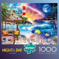 Night & Day Life's a Beach 1000 Piece Jigsaw Puzzle Box
