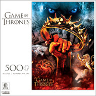 "Game of Thrones ""There Is Only One War That Matters, And It Is Here"" 500 Piece Jigsaw Puzzle Box"