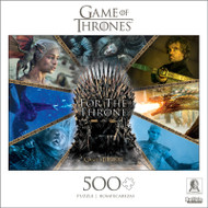 Game of Thrones For The Throne 500 Piece Jigsaw Puzzle Box